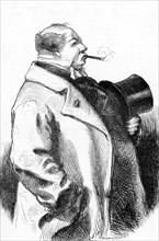 Portrait d'un fumeur