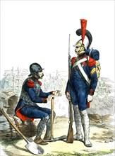 Sapeur du Génie, Garde Imperiale Napoleon 1er