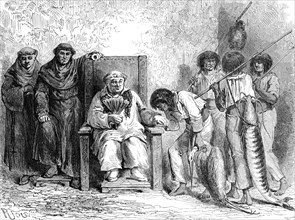 Tribu des MItayas, Pérou, 1865