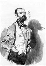 Un fumeur en 1856