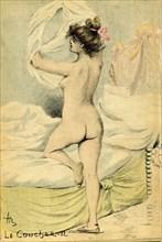 Le coucher par Henri Boutet