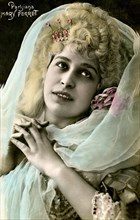 Mary PERRET, Artiste et chanteuse 1900