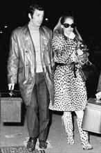 Ursula Andress et Jean-Paul Belmondo, 1969