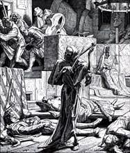Danse Macabre, Second Cholera Pandemic, 1832