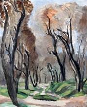 "Matisse, ""Allée d'oliviers"""