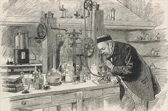 LOUIS PASTEUR (1822-1895) French biologist and chemist
