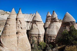 Kasha-Katuwe Tent Rocks National Monument, New Mexico USA
