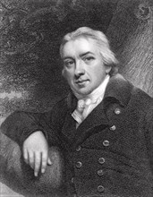 EDWARD JENNER (1749-1823) English physician and scientist who created the smallpox vaccine