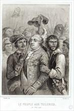 Le sac des Tuileries, 1792