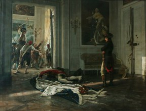 Réalier-Dumas, Bonaparte aux Tuileries