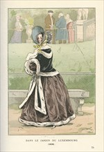 Dans le jardin du Luxembourg, 1838