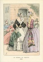 Le perron de Tortoni, 1847