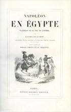 """""""Napoléon en Egypte, Waterloo, et Le Fils de l'Homme"""", page de garde"""
