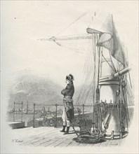 Napoléon Bonaparte partant pour la Campagne d'Egypte