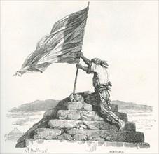 Victoire française après la Bataille des Pyramides (1798)