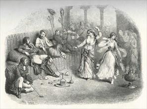 Bonaparte reçu par les Mamelouks au Caire (juillet 1798)
