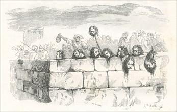 A Ptolémaïs, la population expose les têtes des soldats français morts au combat (1798)