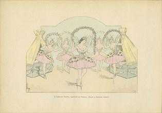 Le Ballet des Abeilles, tableau vivant représenté lors d'un bal aux Tuileries, sous le Second Empire