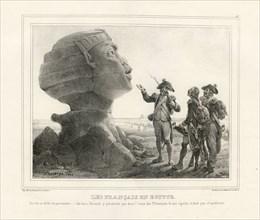 """Bellangé, """"Les Français en Egypte"""""""