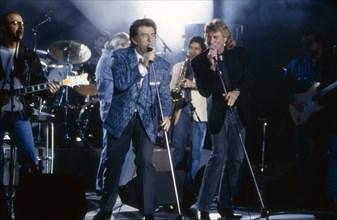 Eddy Mitchell, Johnny Hallyday, 1996