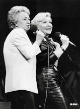 Jacqueline Maillan et Line Renaud, 1985
