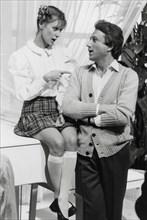 Dorothée et Michel Drucker, 1985