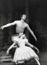 Rudolf Noureev et Dominique Khalfouni, 1982