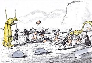 Prehistoric Peeps, Le match annuel de football