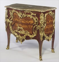 Pair of Commodes; Bernard II van Risenburgh, French, after 1696 - about 1766, master before 1730, Paris, France; about 1750