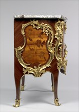 Commode; Bernard II van Risenburgh, French, after 1696 - about 1766, master before 1730, Paris, France; about 1750; Oak