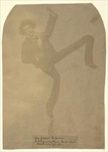 Photomontage of Félix Nadar; Nadar, Gaspard Félix Tournachon, French, 1820 - 1910, 1855 - 1860; Salted paper print