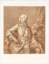 Self-portrait of the artist, Un artiste oublié: J. B. Massé, peintre de Louis XV, dessinateur, graveur, Massé, Jean Baptiste