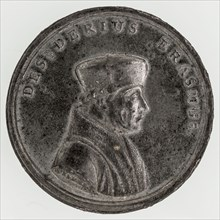 A. Bemme, Medal on Erasmus, penning footage tin, d 0,6 struck, bust Erasmus with beret to the right, DESIDERIUS ERASMUS signed