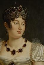 Portrait de Caroline Murat (détail)