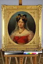"""Robert Lefevre, """"Portrait de la vicomtesse de Saint-Mars"""""""
