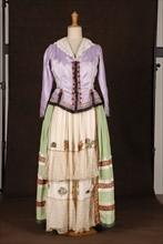 Costume de théâtre : robe style Louis XIV