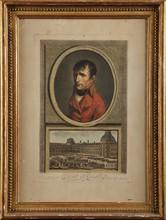 Revue du Général Bonaparte 1er Consul