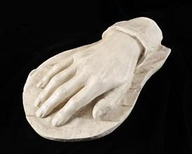 Moulage de la main de l'Empereur Napoléon Ier
