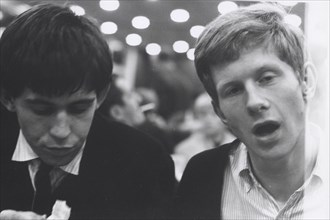 Keith Richards et Andrew Olham au Motorway Café (1963)