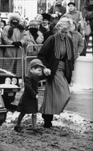 Prince William et princesse Diana