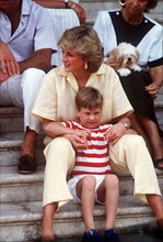 Princesse Diana et prince William