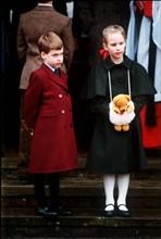 Zara Phillips et prince William