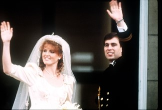 Mariage du prince Andrew et de Sarah Ferguson