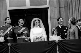 Mariage de la princesse Anne et du prince Philippe, duc d'Edimbourg