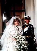 Mariage du prince Charles et de Lady Diana Spencer