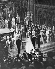Mariage de la princesse Margaret et de Lord Antony Armstrong-Jones