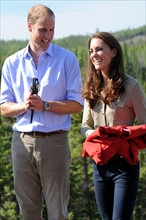 Le prince William et sa femme Kate