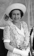 La reine Elisabeth II en visite dans l'archipel des Samoa