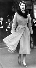 La reine Elisabeth II en visite officielle