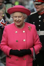 La reine Elisabeth II à Newcastle